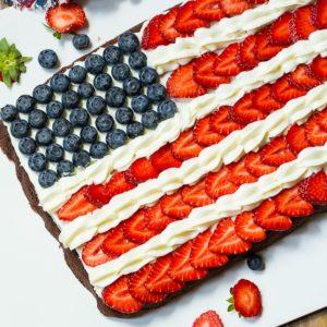 Fourth of July Recipe: Patriotic Brownies